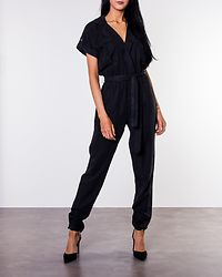 Mendi Vera Jumpsuit Long Black