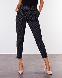 Nicole Pinstripe Pants Black/Pinstripe