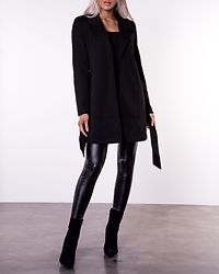 Verodona Trenchcoat Black