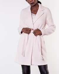 Nina Brushed Jacket Misty Rose