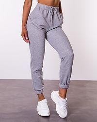Chilli Summer Sweat Pants Light Grey Melange