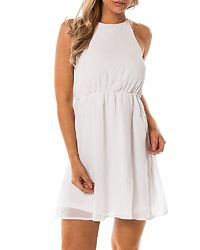 Sierra Dress White