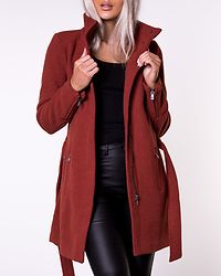 Christie Rianna Wool Coat Ketchup