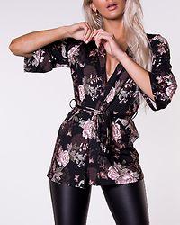 Hazel Jacket Black/Patterned