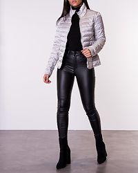 Tahoe Shimmer Collar Jacket Silver