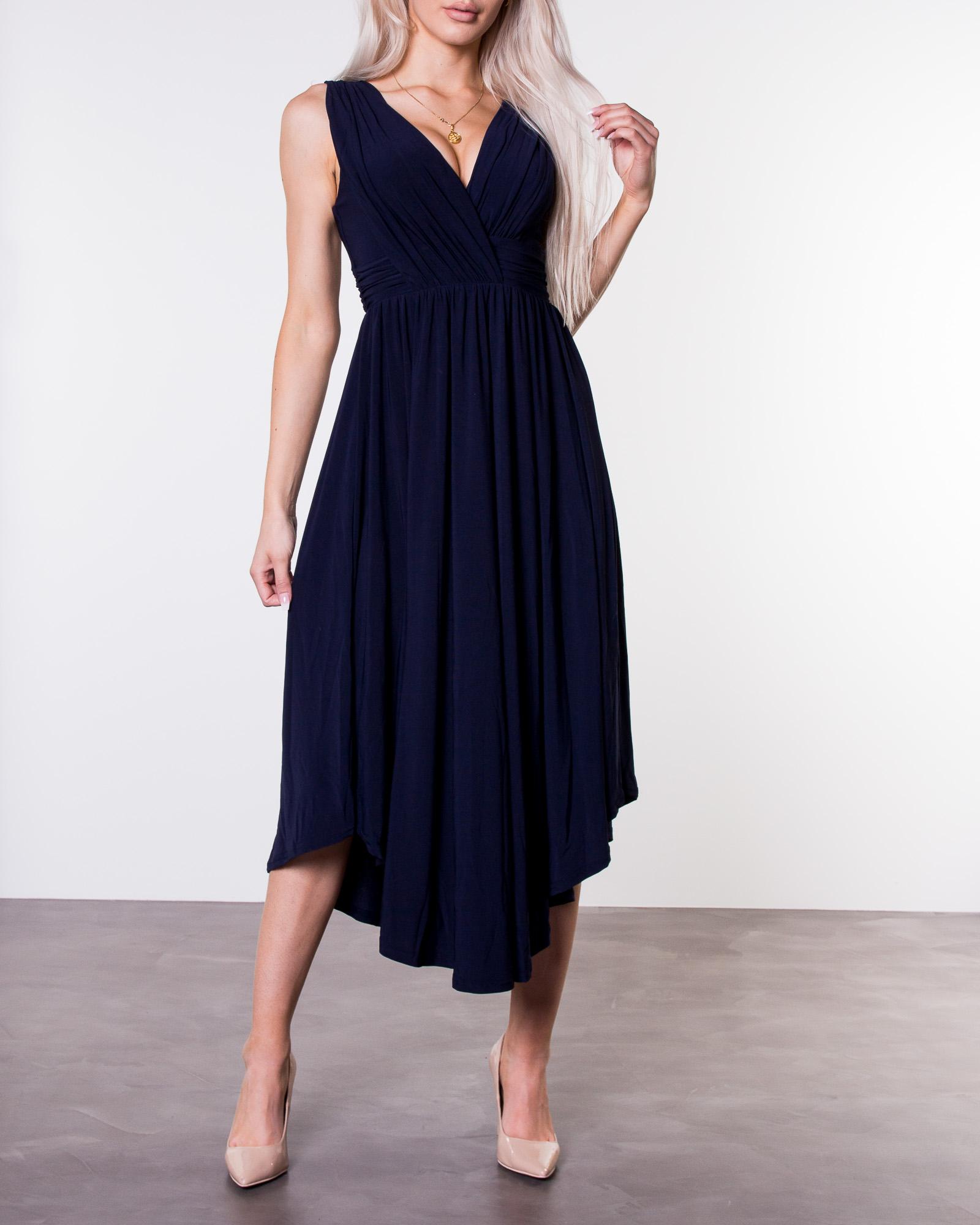 e3b0680e3d61 Valeria Dress Dark Blue