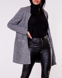 Besty Zip Jacket Light Grey Melange