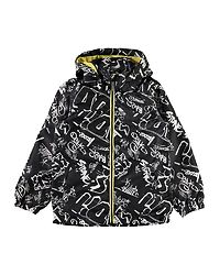 Mellon Jacket Grafitti Black