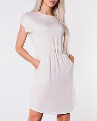 Billo O-Neck Dress Lurex Bright White/Gold