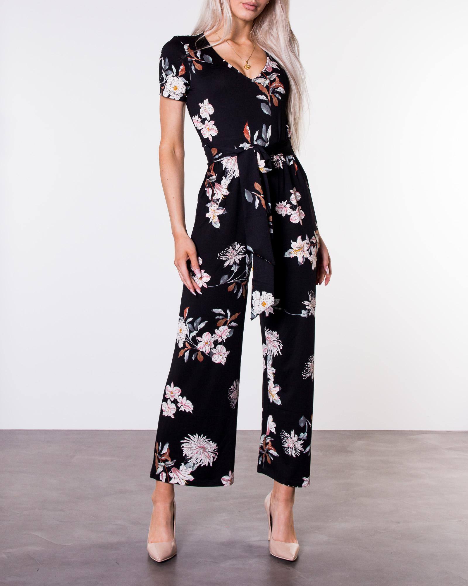 854059c3 Happy Holly, Celine Jumpsuit Patterned | Women's Dresses |  HOUSEOFBRANDON.COM