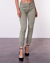 Missouri Ankle Cargo Pant Oil Green