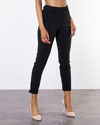 Glowing Mid Ankle Pant Black/Pinstripe