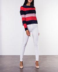 Joelle Stripe Pullover Cayenne
