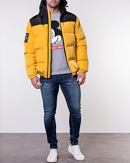 Kalsoy Hooded Down Jacket Yellow