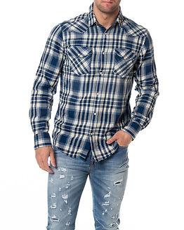 Belmont Shirt Western Mood Indigo