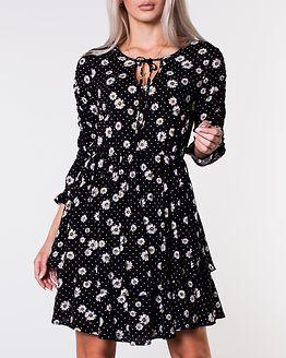 Daisy Dress Floral/Black