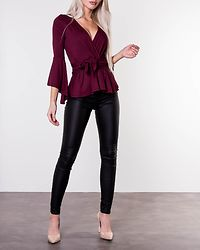 Alice Top Wine Red