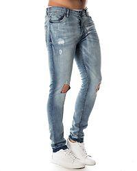 Taylor Cut Out Jeans Light Blue