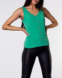 Sasha Button Top Holly Green