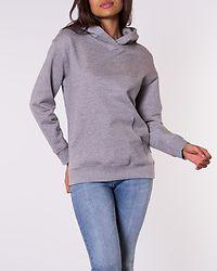 Leya Embroidery Sweat Light Grey Melange/Embroidery