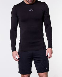Alton Base Layer Long Sleeve Tee Black