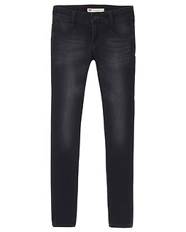 710 Super Skinny Jeans Black
