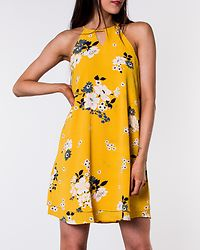 Mariana Myrina Dress Vibrant Yellow/Mie Flower
