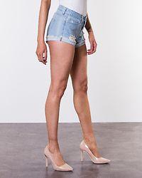 Fran Denim Shorts Light Blue Denim