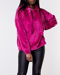 Isabel L/S Hood Red Plum