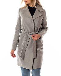 Dido Long Coat Light Grey Melange