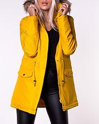 Catja New Parka Jacket Golden Rod