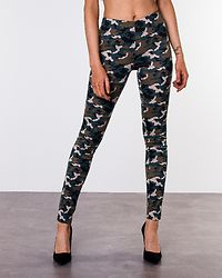 Avilla Leggings Black/Camo