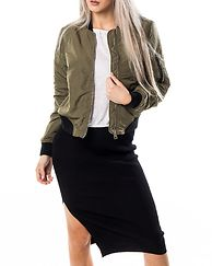 Dicte Short Jacket Ivy Green