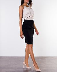 Victoria Pencil Skirt Black