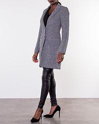 Carmelita Linda Coat Medium Grey Melange