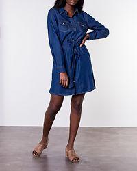 Leonie Denim Dress Medium Blue
