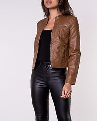 Sheena Short Jacket Cognac