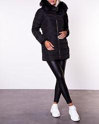 Camilla Quilted Coat Black