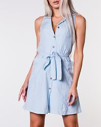 Abena Short Shirt Dress Cool Blue