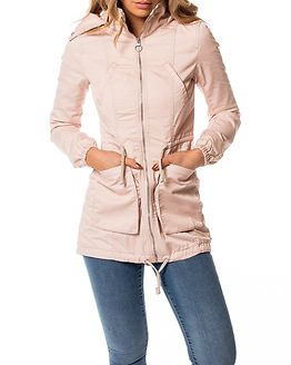New Olga Spring Parka Coat Cameo Rose