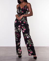 Simply Easy Strap Jumpsuit Black/Laila