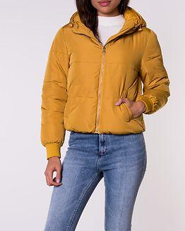 Erica Short Padded Hood Jacket Harvest Gold