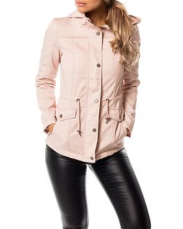 New Kate Spring Parka Jacket Cameo Rose
