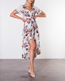 Evie Dress Offwhite/Patterned