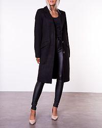 Vicki Wool Coat Black