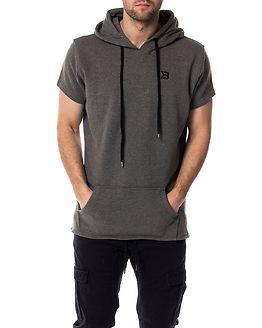 Bronx T-Shirt Hoodie Dark Grey Melange
