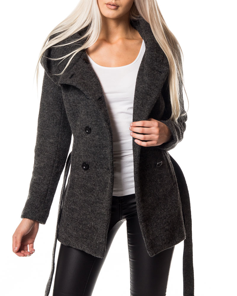 Free shipping and returns on Women's Grey Wool & Wool-Blend Coats at kcyoo6565.gq