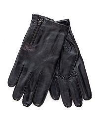 Raw Leather Glowe Black