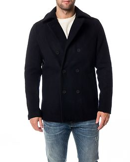 Edgar Peacoat Dark Navy