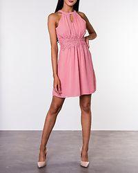Milina Halterneck Dress Brandied Apricot